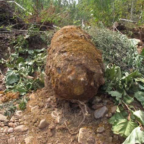 沉睡六十三年的巨型炸弹被成功销毁